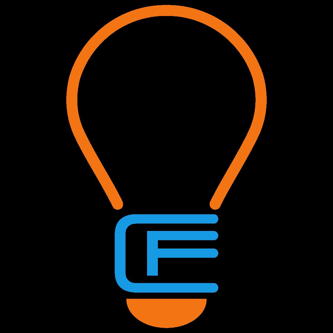 logo de christophe finot electricien dans le luberon